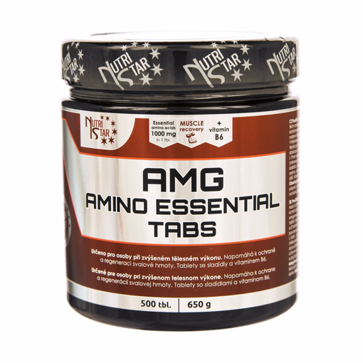 Picture of AMG Amino Essential 500 tab.