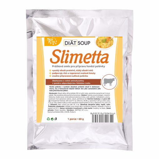 Picture of Diät soup Slimetta 60g Bag
