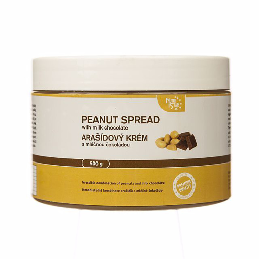 Picture of Peanut spread with milk chocolate 500g