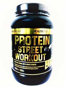 Picture of Protein for STREET WORKOUT 900 g Dose